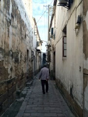 Old alleys are similar in every country. This one is in Suzhou but could as easily be in Lisbon