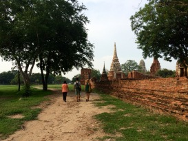 Ayutthaya's Historical park is huge, with much to see