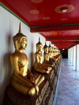 The temple houses Thailand's largest collection of Buddhas...