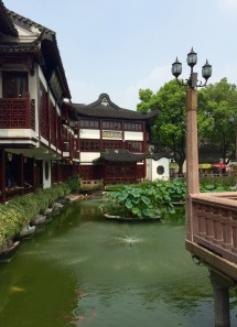 Close to the entrance of the Yu Garden
