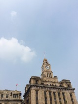 The Bund was originally a British settlement set outside of old Shanghai, which explains the colonial style buildings