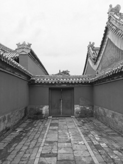 ... But the Forbidden City would be magnificent in any color