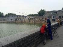 Fishermen outside of the Forbidden City