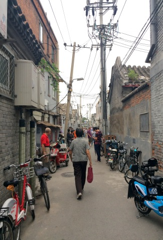 Hutongs are traditional Northern China neighborhoods, typically made up of narrow alleys and courtyard residences. Many were destroyed to give way to large avenues