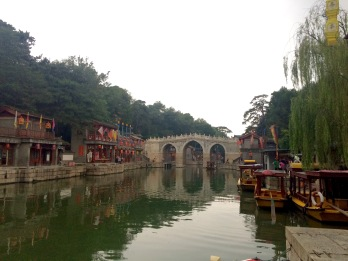 The Suzhou Marketing Street in the Summer Palace was modeled after the traditional river markets in Suzhou, which we will talk about in the next post