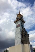 Cambodia-Vietnam Friendship Monument in Phnom Penh's downtown