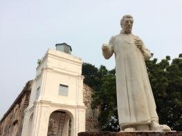 ... originally called 'Nossa Senhora da Anunciada' before the Dutch took Malacca from the Portuguese