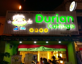 Southeast Asians are crazy for durian, a fruit so foul-smelling that it's prohibited in most public places