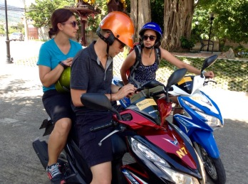 Scooters are a great way to explore Chiang Mai