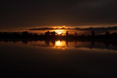 Sunrise at Sras Srang