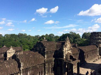 Angkor Wat is probably the best conserved monument in the Angkor complex