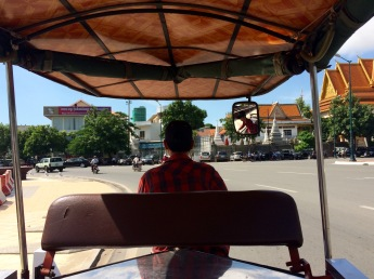 Our super nice tuk tuk driver, with amazing driving skills!