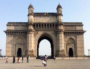The Gateway of India was supposed to commemorate King George V and Queen Mary's 1911 visit, but construction only started in 1915