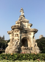 The Flora Fountain, in South Mumbai