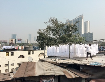 Most of the laundry from Mumbai's hotels, hospitals and barracks is washed here