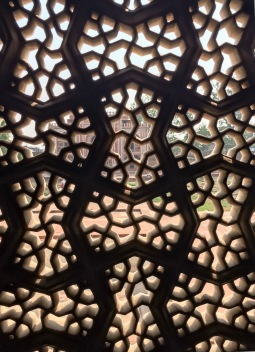 ... which includes astonishing latticework...