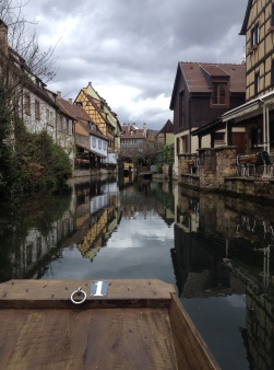 Boat ride in Colmar, France