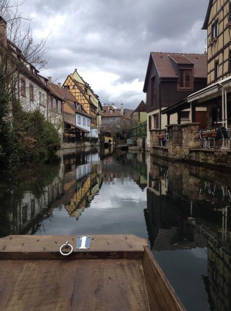 Boat ride in Colmar, France