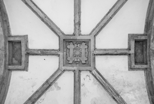 Ceiling at the Convent of Christ, Tomar, Portugal (18mm, 1/60s, f3.5, ISO 3200)