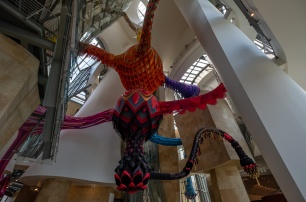 """Egeria"", by Joana Vasconcelos, Guggenheim Museum, Bilbao (PPL1-Corrected)"