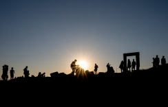 Apollo's gate, Naxos (16mm, 1/350s, f13, ISO 200)