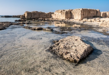 Old sea salt production in Stavros, near Chania (16mm, 1/350s, f7.1, ISO 200)