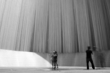 Gerald D. Hines Waterwall Park, Houston (19mm, 8s, f18, ISO 200, 9-stop ND filter)