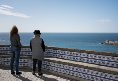 Two generations of fishermen's wives (Ericeira, Portugal)