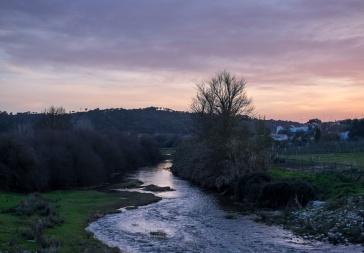 River Sor (Ponte de Sor, Portugal)