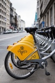 Brussels' Villo! bike system (similar to Paris' Vélib')