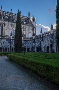 Cloisters at Batalha Monastery, Batalha, Portugal