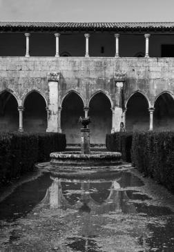 Cloisters at Batalha Monastery, Batalha, Portugal