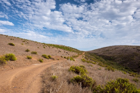 Endless trail near Bordeira, Portugal (16mm, 1/350s, f7.1, ISO 200)