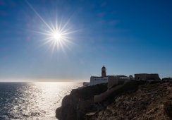 The lighthouse at Cape St. Vincent, Sagres, Portugal (composite image, 16mm, 1/320s & 1/1250s, f16, ISO 200)