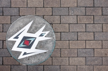 Sidewalk art at Downtown Austin, Texas (16mm, 1/170s, f5.6, ISO 200)