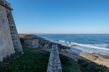 Pessegueiro Fort near Porto Covo, Portugal (16mm, 1/400s, f6.4, ISO 200)