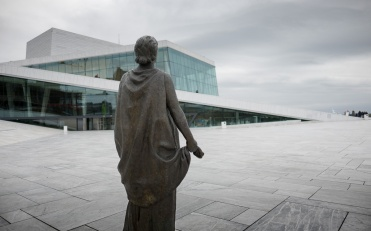 Opera House, Oslo, Norway (16mm, f1.4, 1/6000s, ISO 200, PPL1-Corrected)