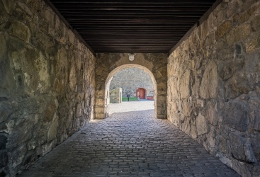 Akershus Fortress, Oslo, Norway (2-picture composite, 16mm, f2,8 & f5.6, 1/125s, ISO 200, PPL2-Enhanced)
