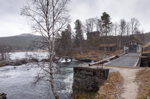 Fossehuset sawmill, Norway (16mm, f5.6, 1/400s, ISO 200, PPL3-Altered)