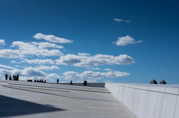 Opera House, Oslo, Norway (35mm, f16, 1/500s, ISO 200, PPL1-Corrected)