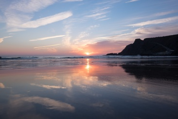 Before: Sunset at Arrifana beach, Portugal (16mm, 1/150s, f5, ISO 200, PPL0-Raw)