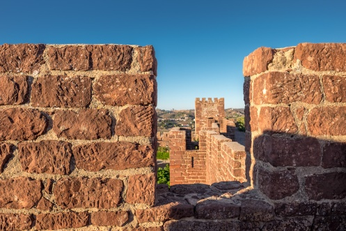 Silves Castle, Algarve, Portugal (16mm, f5.6, 1/320s, ISO 200, PPL1-Corrected)