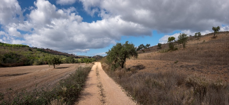 Near Bensafrim, Algarve, Portugal (3-picture panorama, 16mm, f8, 1/350s, ISO 200, PPL1-Corrected)