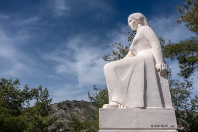 Statue of Cypriot Mother, Palaichori, Cyprus (18mm, f6.4, 1/1700s, ISO 200, PPL1-Corrected)