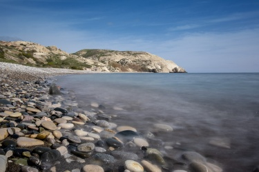 Aphrodite's Beach, Cyprus (9-stop ND filter, 18mm, f20, 4s, ISO 200, PPL2-Enchanced)