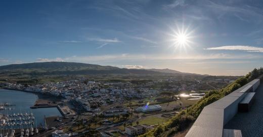 Praia da Vitória, Terceira, Azores (4-image composite panorama, 18mm, f20, 1/800s, ISO 200, PPL2-Enhanced)