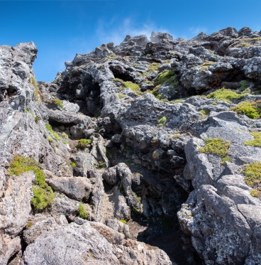 Piquinho mountain tip, Pico, Azores (3-picture panorama, 18mm, f5.6, 1/250s, ISO 200, PPL2-Enhanced)