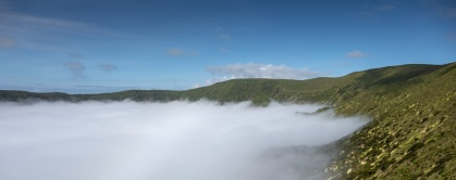 Caldeira, Faial, Azores, Portugal (2-picture panorama, 18mm, f5.6, 1/1400s, ISO 200, PPL3-Altered)