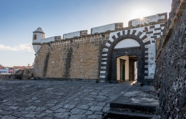 São Sebastião Fort, Faial, Azores, Portugal (3-picture composite, 18mm, f20, 1/75s, ISO 200, PPL3-Altered)