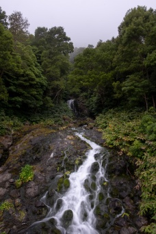Path to Poço da Alagoinha, Flores, Azores (3-picture composite, 18mm, f22, 1/10s, ISO 200, PPL3-Altered)